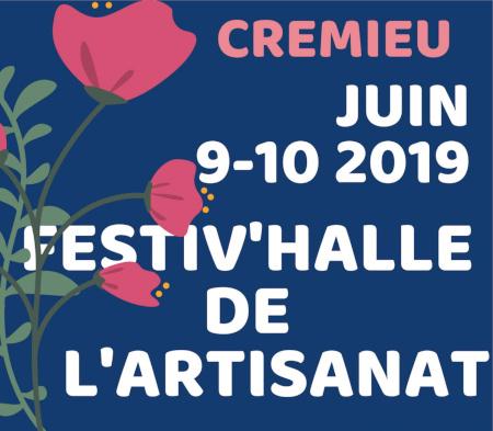 Marché création artisanat Crémieu Isère