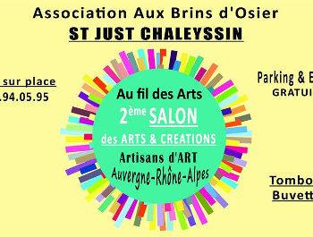 Marché création artisanat St Just Chaleyssin Isère