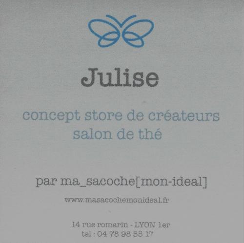 Julise Concept-store Boutique Lyon Rhône