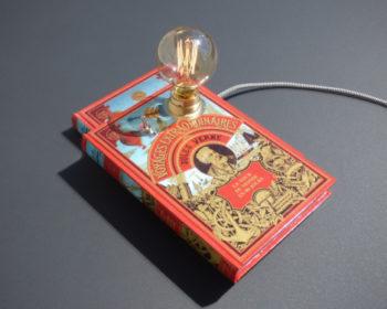 Lampe Livre Jules Verne