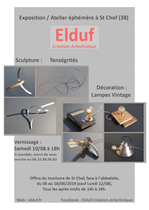 Exposition Salon Artiste St Chef Isère
