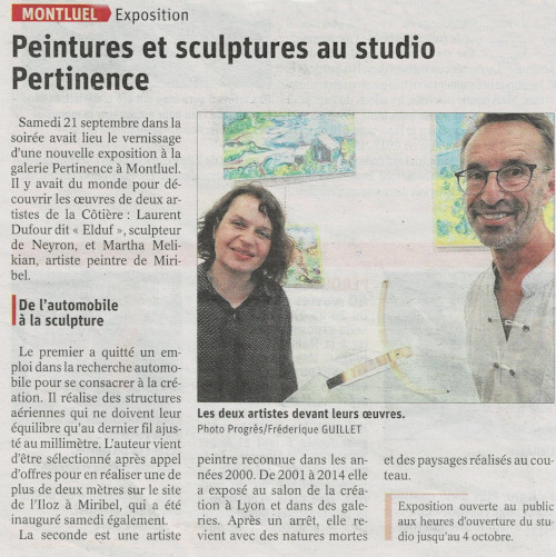 Article Expo Contrastes StudioPertinence