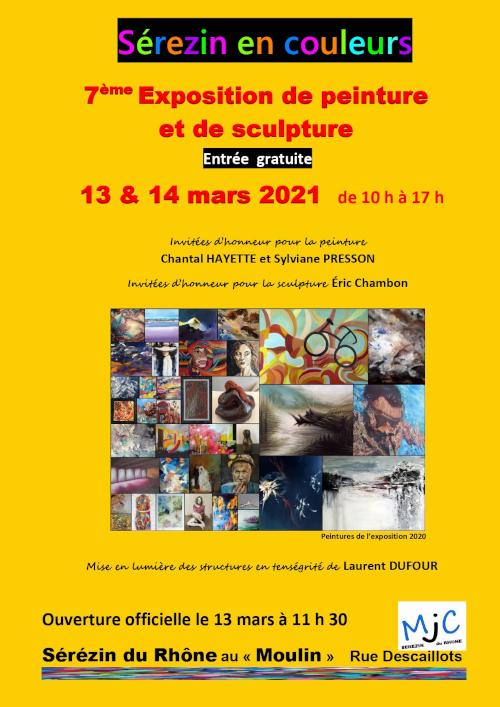 Salon Sérézin en Couleurs 2021 Lyon Rhône