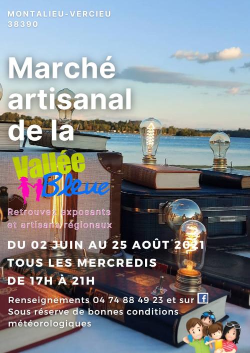 Marché artisanal Artisanat Vallée Bleue Montalieu-Vercieu