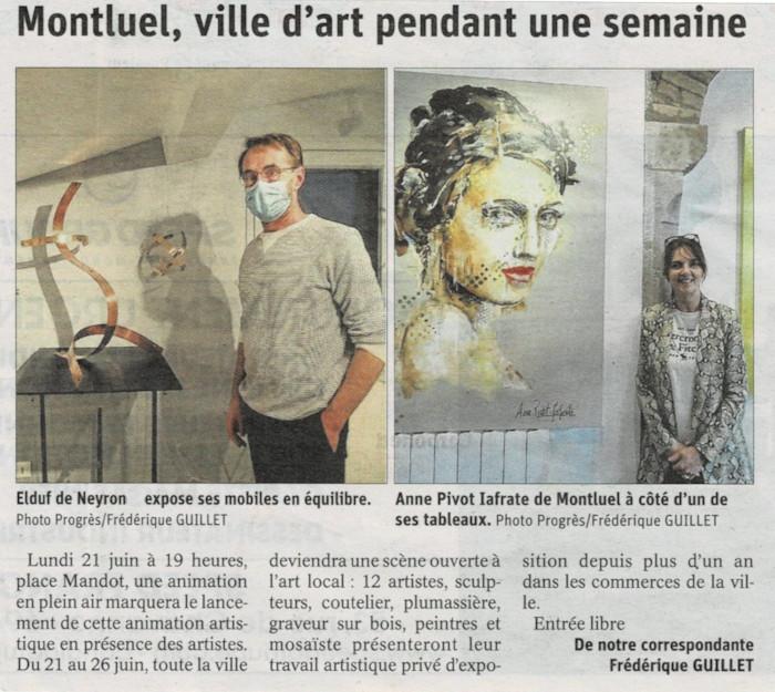 Article Expo l'Etabli Montluel
